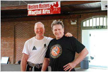 Sensei Dane Harden and Grand Master Joe Lewis