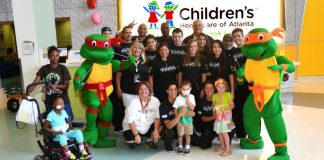 Team Mitchell Visits Children's Healthcare of Atlanta