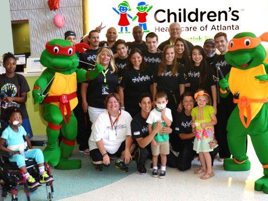 Team Mitchell Visits Children's Healthcare of Atlanta