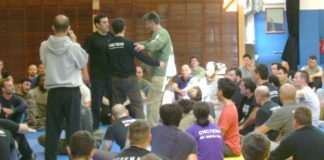 Vladimir Vasilievs seminar Fighting on the Move