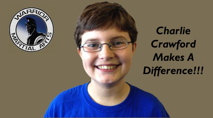 Charlie Crawford Makes A Difference
