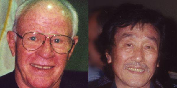 GM Ed Daniels and GM Jack Hwang