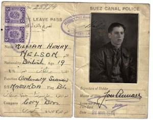 Bill Nelson's Navy pass