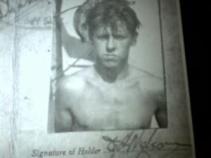 Bill Nelson aged 18