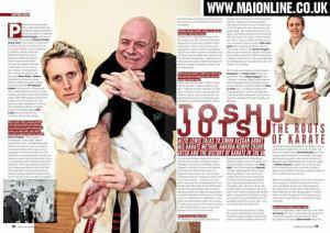 Simon Keegan article Martial Arts Illustrated on origins of British Karate