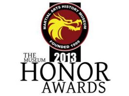 Martial Arts History Museum Honor Awards