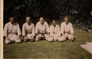 The UK's first Karate club at Vernon Bell's