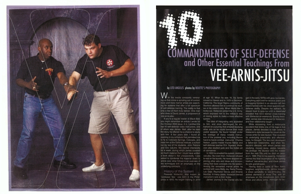 David James Black Belt Magazine Article