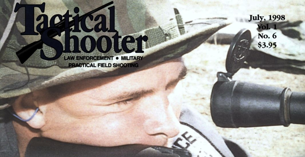 Billy Martin Tactical Shooter Cover July 1998