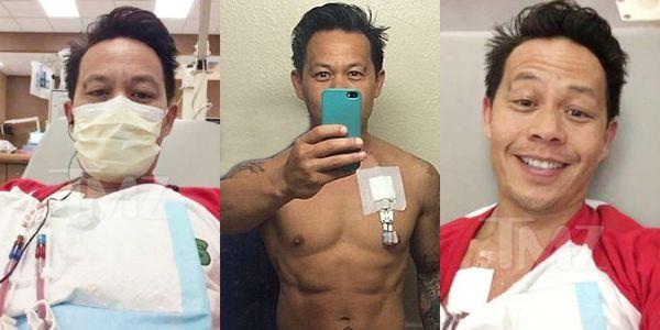 Ernie Reyes Jr. Hospitalized
