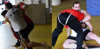 Wrestling for San Da