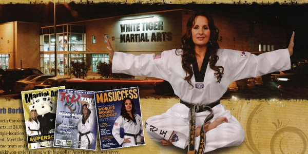 Rondy McKee of White tiger Martial Arts