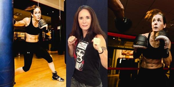 Traci Konas Female Amateur Boxer