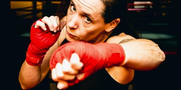 Traci Konas Amateur Boxer
