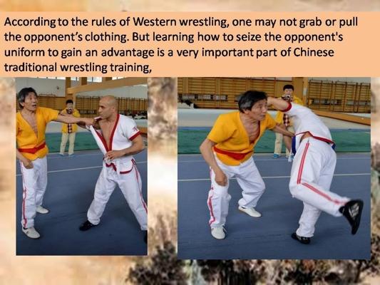 Chinese Wrestling vs Western Wrestling