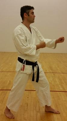 Kamil Kroczewski Internal Karate - Starting Position
