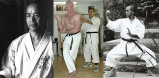 Ed Sumner Sensei and Teruo Chinen Sensei