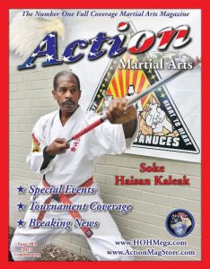 Haisan Kaleak Cover Action Martial Arts Magazine