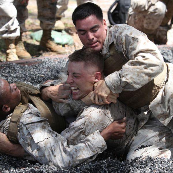 Line US Marine Corps' method of combat