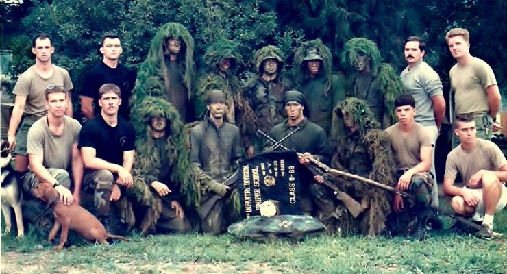 Alain Burrese Assistant Sniper Instructor 1988 Camp Casey Korea