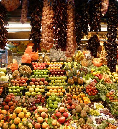 Fresh Produce Barcelona Spain
