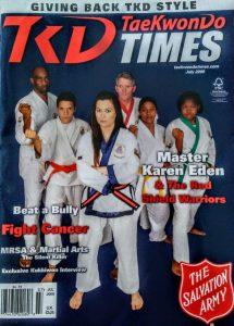Karen Eden Herdman Cover of TKD Times