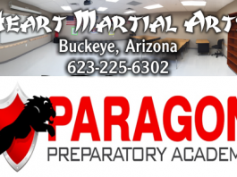Heart Martial Arts and Paragon Preparatory Academy Team UP!