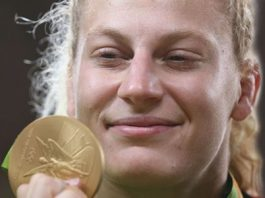 udo's Kayla Harrison take Another Olympic Gold