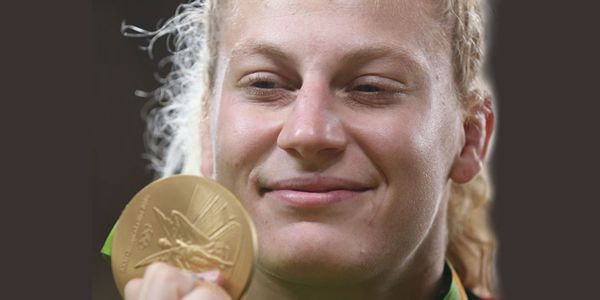 Judo's Kayla Harrison wins another Olympic Gold