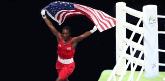 USA's Claressa Shields wins gold