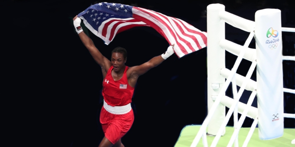 USA's Claressa Shields wins gold