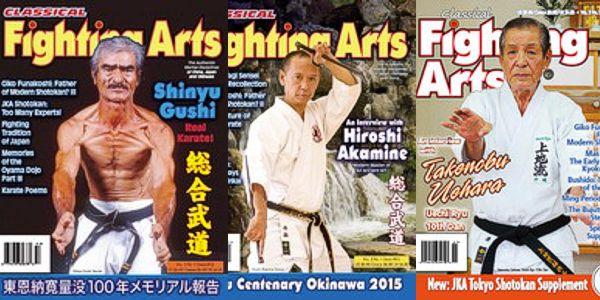 Classical Fighting Arts Magazine