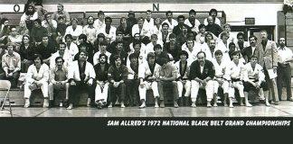 Sam Allred's 1972 National Black Belt Grand Championships