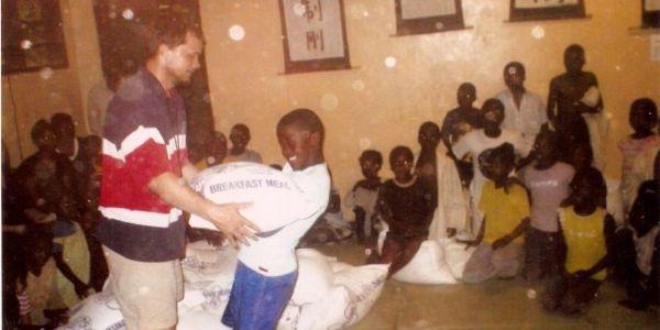 Mealie Meal Tournament Prize at Kodokwan Judo Jujitsu Club of Zambia Tournament