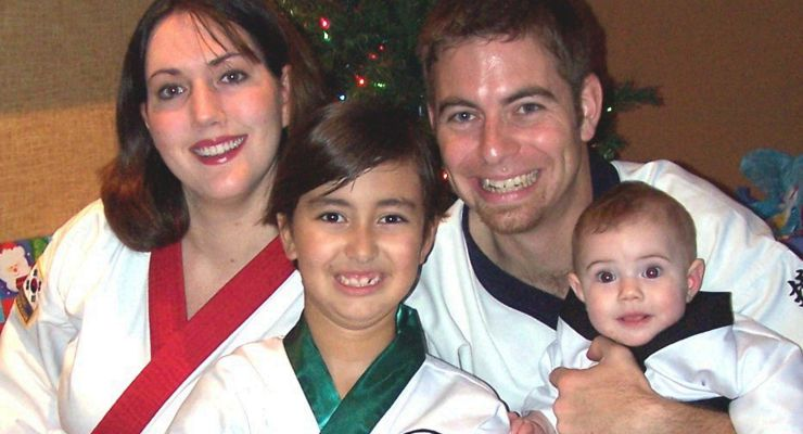 Chris DuFour and Family: Tang Soo Do