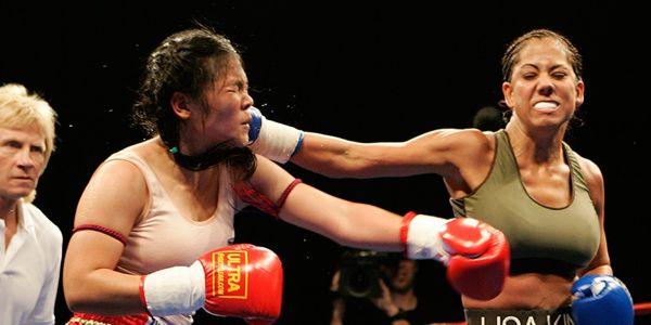 Lisa King Black Widow of Muay Thai