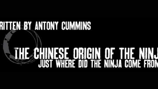 The Chinese Origin of the Ninja