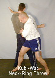Karate Grappling: Kubi-Wa: Neck-Ring Throw