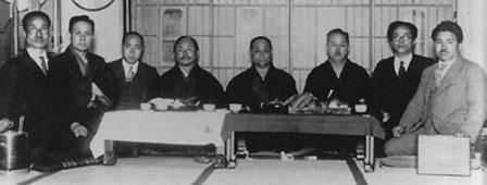 Hironori Ohtsuka, Gichin Funakoshi, Choki Motobu, Kenwa Mabuni
