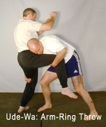 Karate Grappling: UDE-Wa: Arm-Ring Throw