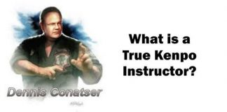 What Is a True Kenpo Instructor?