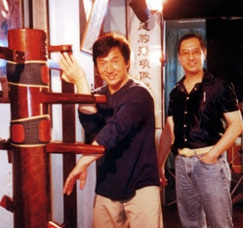 Jackie Chan and Leung Ting