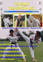 Totally Tae Kwon Do Issue #18