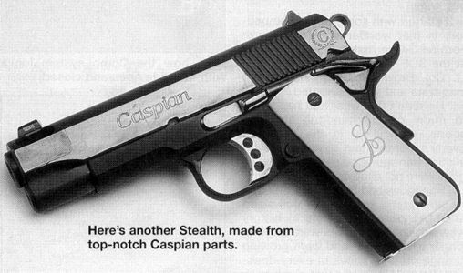 Caspians Parts on the Stealth .45 ACP
