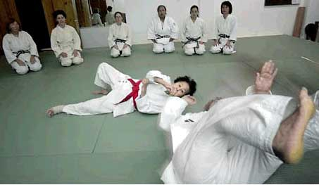Keiko Fukuda Teaching