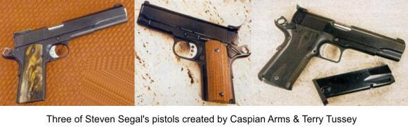 Steven Seagal's Pistols