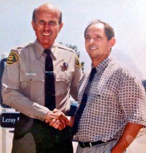 Sheriff and Gordon Richiusa