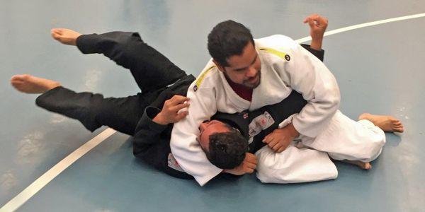 Edgar Cabachuela of the Blind Judo Foundation