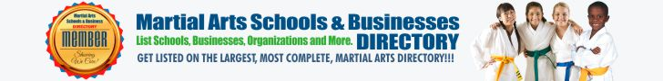 Martial Arts Schools and Businesses Directory