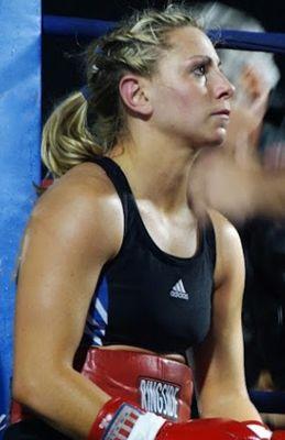 Boxer Angie Woolum